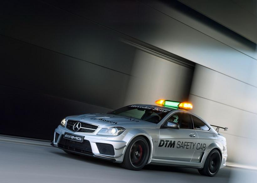 Mercedes-Benz C63 AMG Coupe Black Series DTM Safety Car (2012)