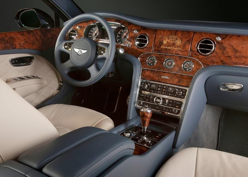 Салон Bentley Mulsanne Diamond Jubilee (2012)